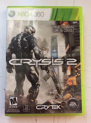 Crysis 2 Videojuego Xbox 360 En Buen Estado En General