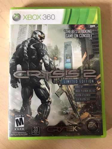 Crysis 2 Y 3 - Juegos Para Xbox 360