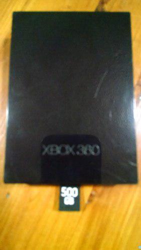 Disco Duro Para Xbox 360 Slim De 500 Gb Original Con Juegos.