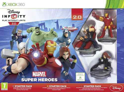 Disney Infinity 2.0 Marvel Super Heroes Starter Xbox 360