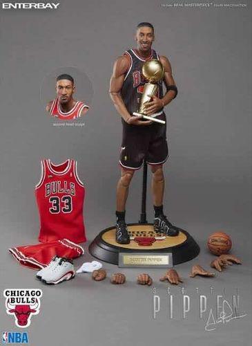 Enterbay Scottie Pippen Nba Chicago Bulls Escala 1/6