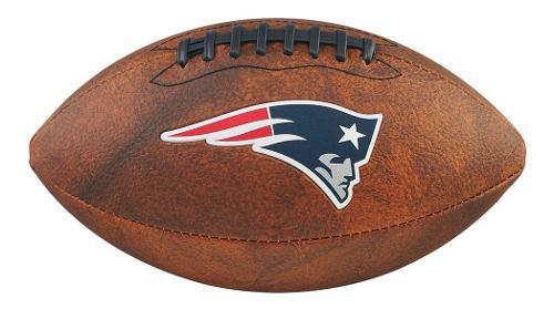 Envio Incluido! Balón Juvenil New England Patriots Wilson
