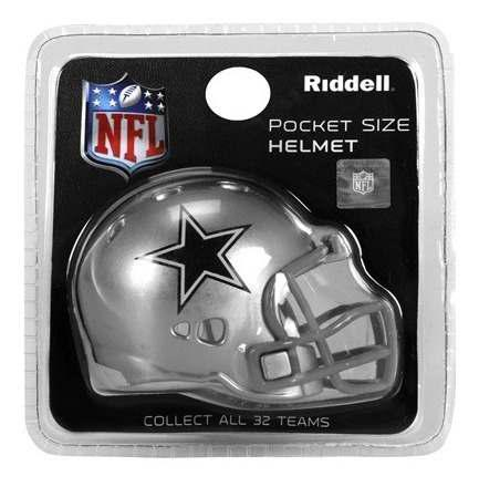Envio Incluido! Nfl Pocket Helmet Riddell Dallas Cowboys