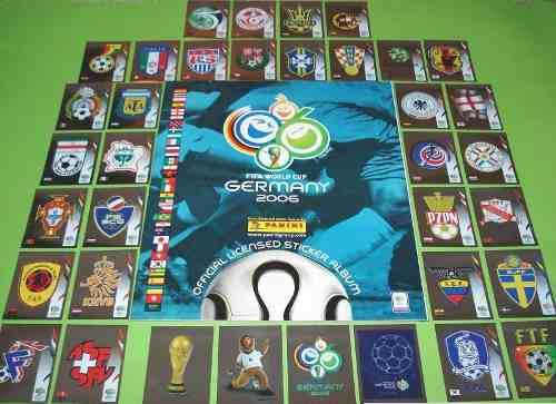 Estampas Alemania 2006 Panini 100% Originales.