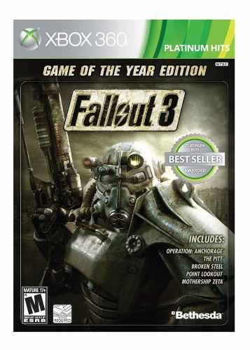 Fallout 3 Game Of The Year Xbox 360, Nuevo