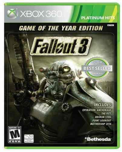 Fallout 3 Goty Edition Xbox 360 Nuevo Y Sellado Juego