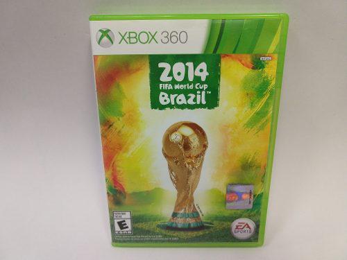 Fifa World Cup 2014 Brazil Xbox 360 Original Garantizado !!!