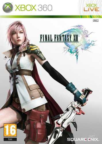 Final Fantasy Xiii 13 Usado Para Xbox 360 Blakhelmet C