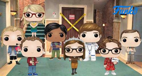 Funko Pop Big Bang Theory 8 Funkos