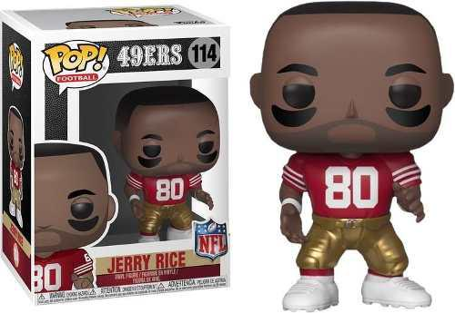 Funko Pop Fútbol Nfl Legends Jerry Rice Figura De Vinil