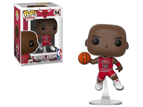 Funko Pop Michael Jordan Nba 'chicago Bulls' #54