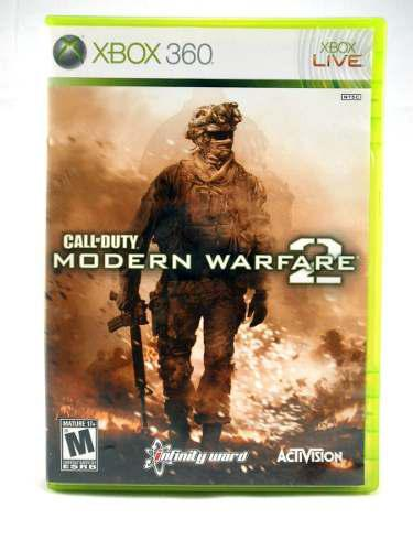 G0429 Xbox 360 Videojuego Call Of Duty Modern Warfare 2