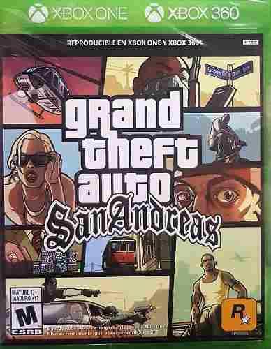 Grand Theft Auto San Andreas - Xbox 360