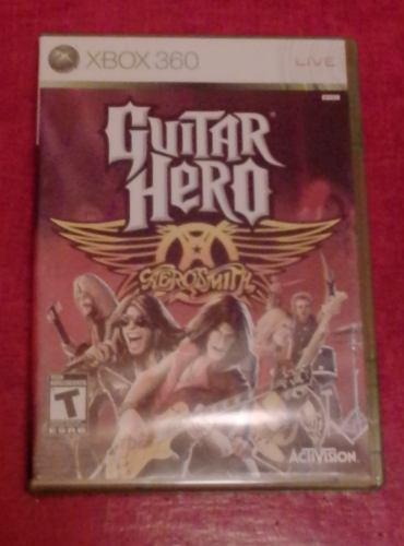 Guitar Hero Aerosmith Xbox 360 Juego