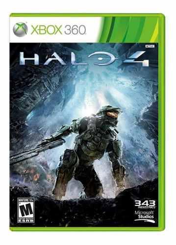 Halo 4 Xbox 360 Usado Garantizado - Blakhelmet C