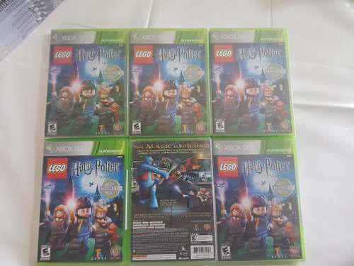 Harry Potter Lego Xbox 360 Nuevo Sellado