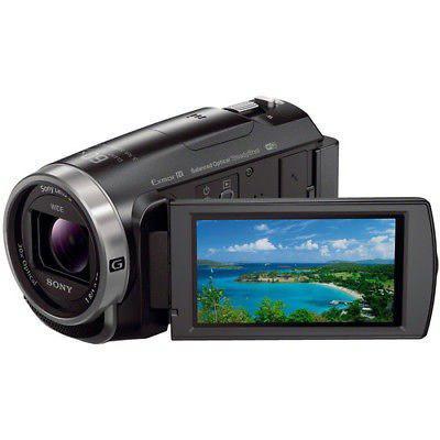 Hdrcx675/b De Sony Full Hd Videocámara De 32gb (negro)