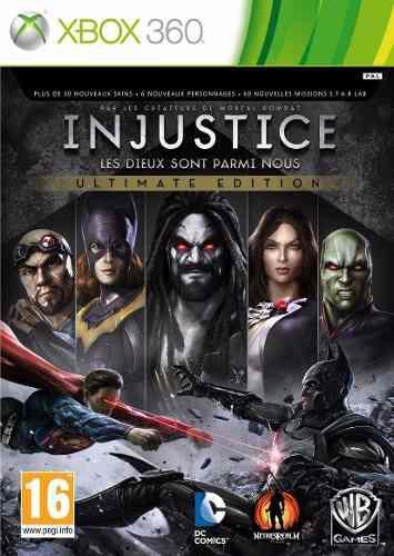Injustice Ultimate Edition Para Xbox 360 Nuevo