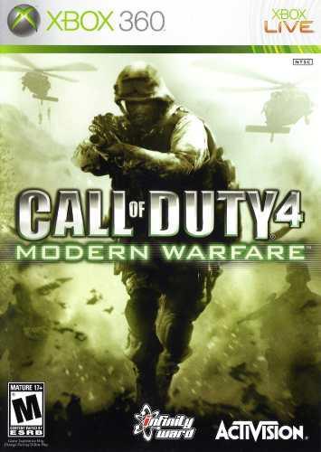 Juego Call Of Duty Modern Warfare 4 Xbox 360 Nuevo