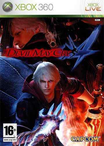 Juego Devil May Cry 4 Usado Para Xbox 360 Blakhelmet C