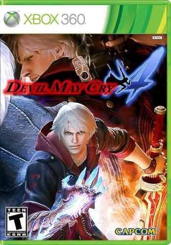 Juego Devil May Cry 4 Xbox 360 Nuevo Original