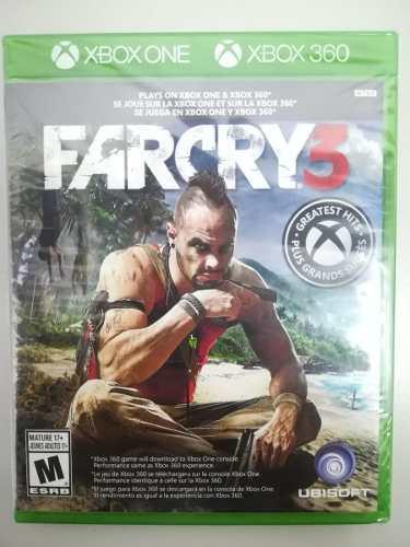 Juego Farcry 3 Xbox One Y 360 Nuevo Original
