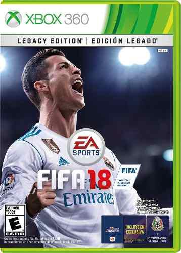 Juego Fifa 18 Xbox 360 Nuevo Original