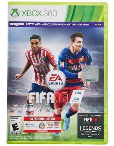 Juego Fisico Fifa 16 Nuevo Para Xbox 360 Blakhelmet E