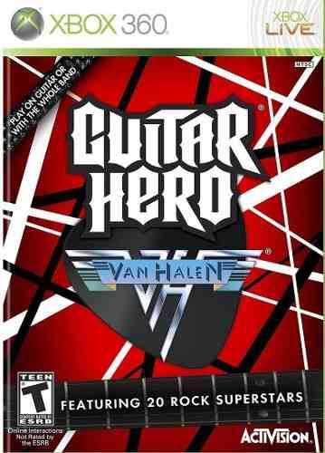 Juego Guitar Hero Van Halen Xbox 360 Nuevo Blakhelmet E