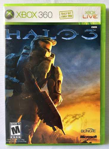 Juego Halo 3 Para Xbox 360 Seminuevo Envio Gra Dhl Gamechief