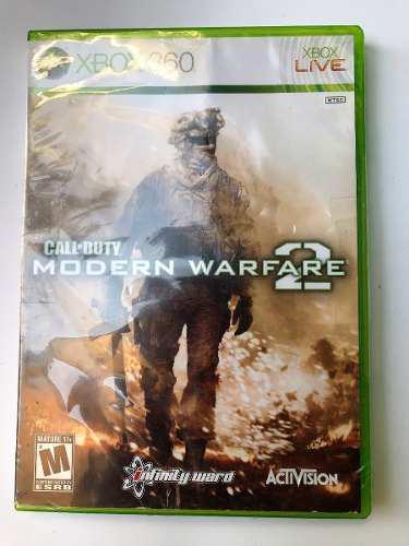 Juego Nuevo Xbox 360 Call Of Duty Modern Warfare 2