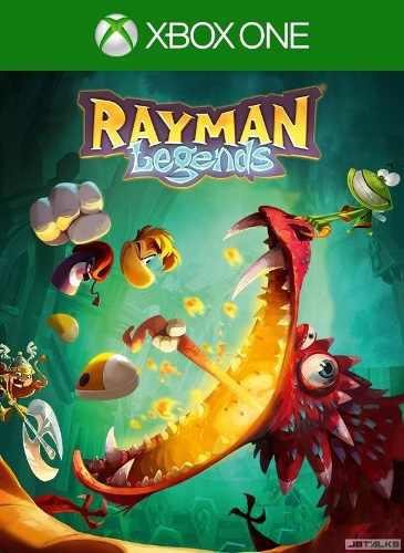 Juego Rayman Legends Xbox One Y 360 Nuevo Original