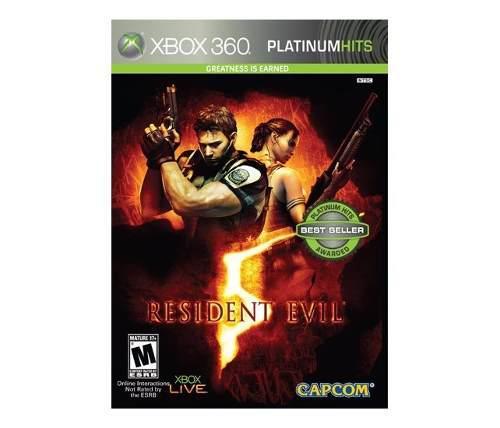 Juego Resident Evil 5 Para Xbox 360 Nuevo Blakhelmet E