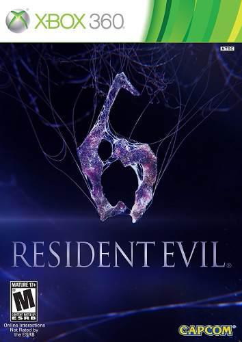 Juego Resident Evil 6 Usado Para Xbox 360 - Blakhelmet C