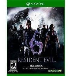 Juego Resident Evil 6 Xbox One Nuevo Original