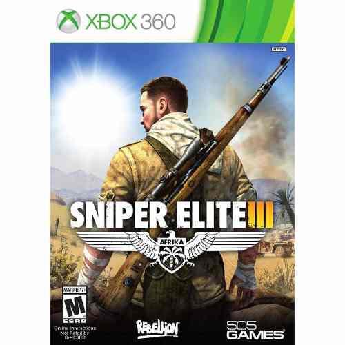 Juego Sniper Elite 3 Xbox 360 Nuevo Original
