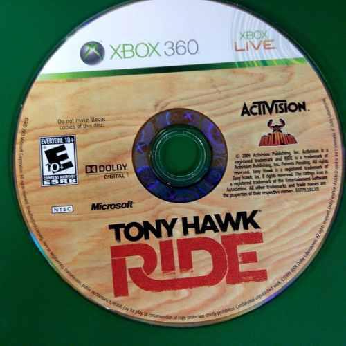 Juego Tony Hawk Ride Para Xbox 360 Usado Blakhelmet C