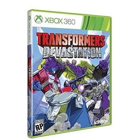 Juego Transformers Devastation Xbox 360 Nuevo Original