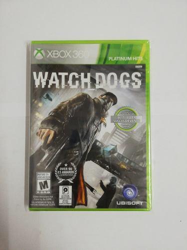 Juego Watch Dogs Xbox 360 Nuevo Original