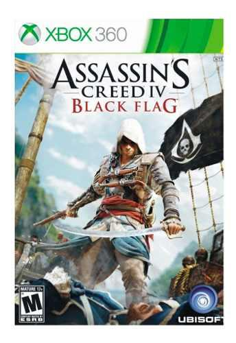 Juego Xbox 360 Assassin's Creed 4 Black Flag Ibushak Gaming