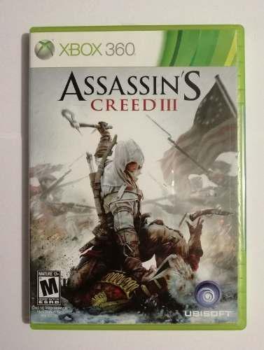 Juego Xbox 360 O Xbox One Assassins Creed 3 Barato