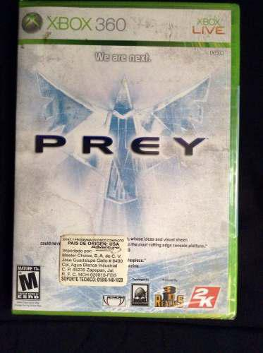 Juego Xbox 360 Prey