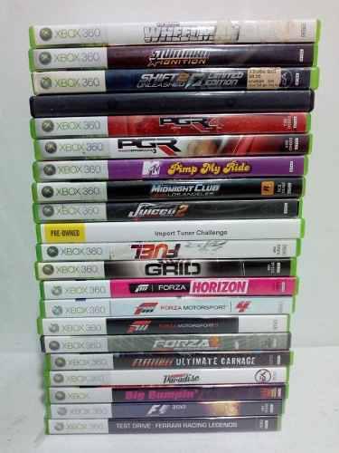 Juegos De Carros Xbox 360, Forza Burnout Pgr Grid Flatout