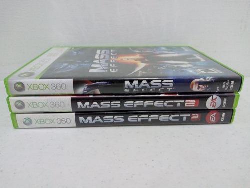 Juegos De Mass Effect Xbox 360 - Paquete De 3 - Envío