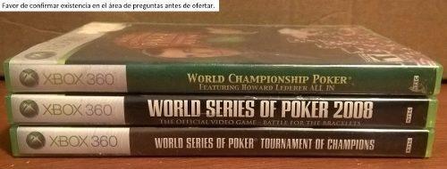 Juegos De Poker Xbox 360 2007 O 2008