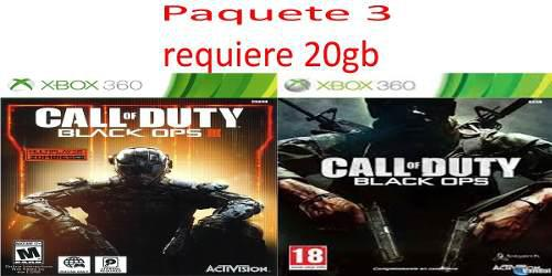 Juegos Para Xbox 360 Call Of Duty Black Ops 1 Y 3