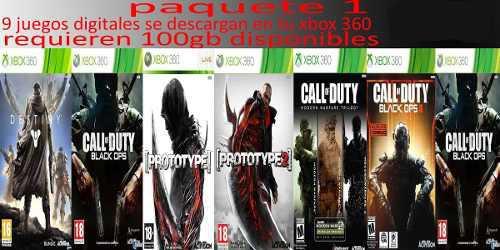 Juegos Para Xbox 360 Digitales Lote De 8 Juegos!