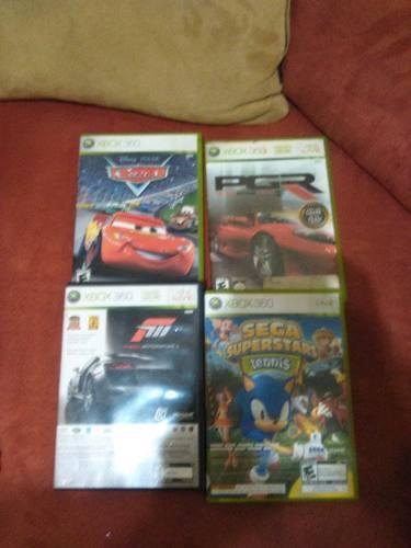 Juegos Xbox360 Cars, Pgr, Forza, Sega Super Star Tenis C/u