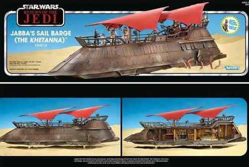 Khetanna Jabbas Sail Barge Star Wars Vintage Collection