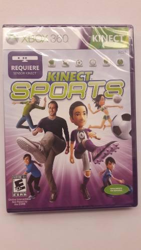 Kinect Sports Xbox 360 Juego Nuevo Sellado